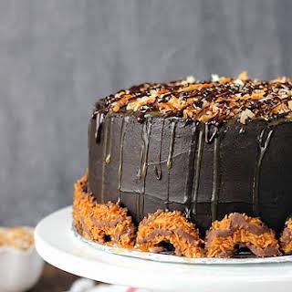 Sinful Samoa Cake.