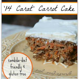 """14 Carat"" Carrot Cake with Cinnamon Cream Cheese Frosting"