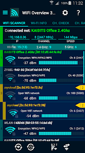 WiFi Overview 360- screenshot thumbnail