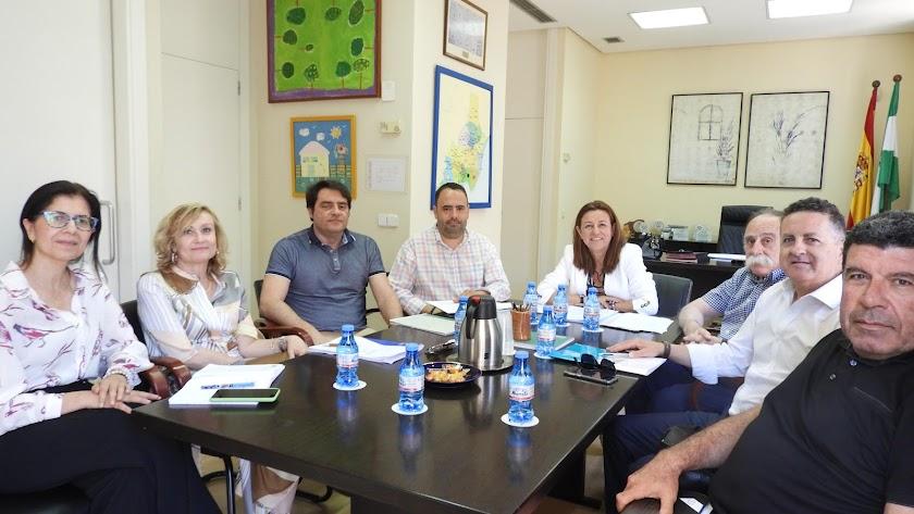 Reunión en la que la delegada ha sido nombrada presidenta de la Fundación.