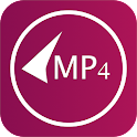 MP4 video downloader icon
