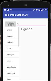 Toki Pona Dictionary - náhled