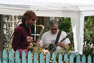 Photo: The Cool Jazz Band entertaining the Festival crowds . . with cool jazz!© Richard Bottle 2008