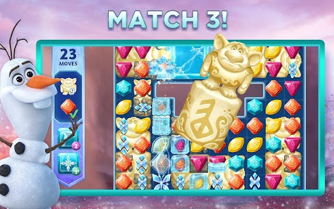 Disney Frozen Adventures Mod Apk Download – A New Match 3 Android Game 2