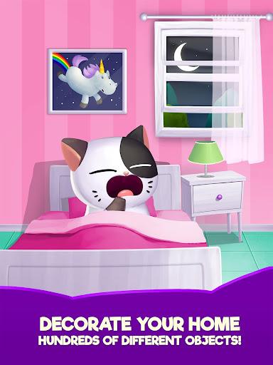 My Cat Mimitos 2 u2013 Virtual pet with Minigames apkpoly screenshots 11