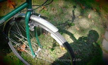 Photo: I am grateful for favorite bike. I love bicycling.