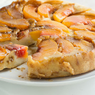 Gluten Free Peach Upside Down Cake