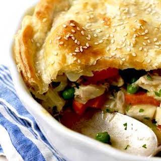 Chicken Pot Pie With Pie Crust.