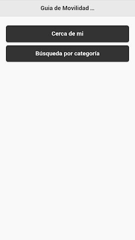 android Movilidad Sanlúcar de Bda. Screenshot 1