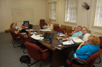 Photo: Planning the 2012 Regional Assembly.