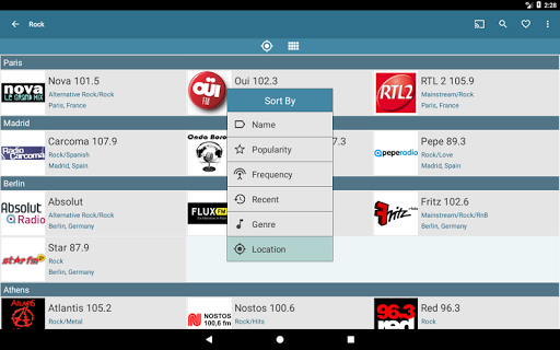 VRadio - Online Radio Player  screenshots 10