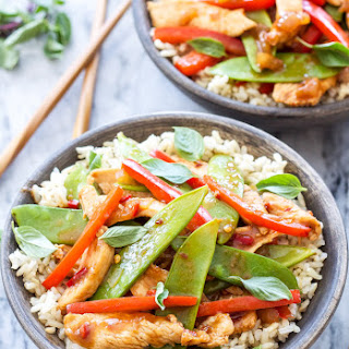 Thai Chicken Stir Fry.