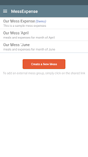Mess Expense - track meals & expenses - náhled