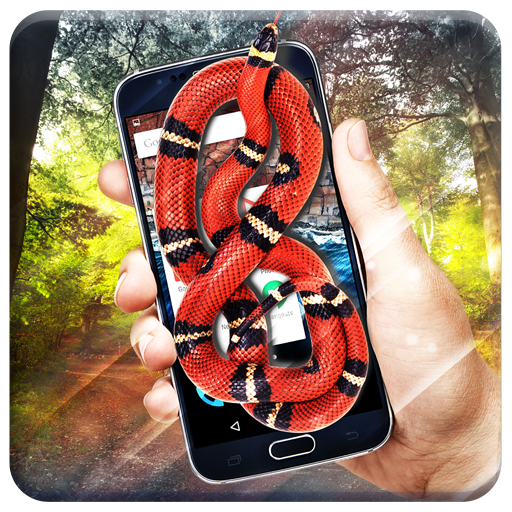 Snake On Phone & Screen -  Hissing Simulator