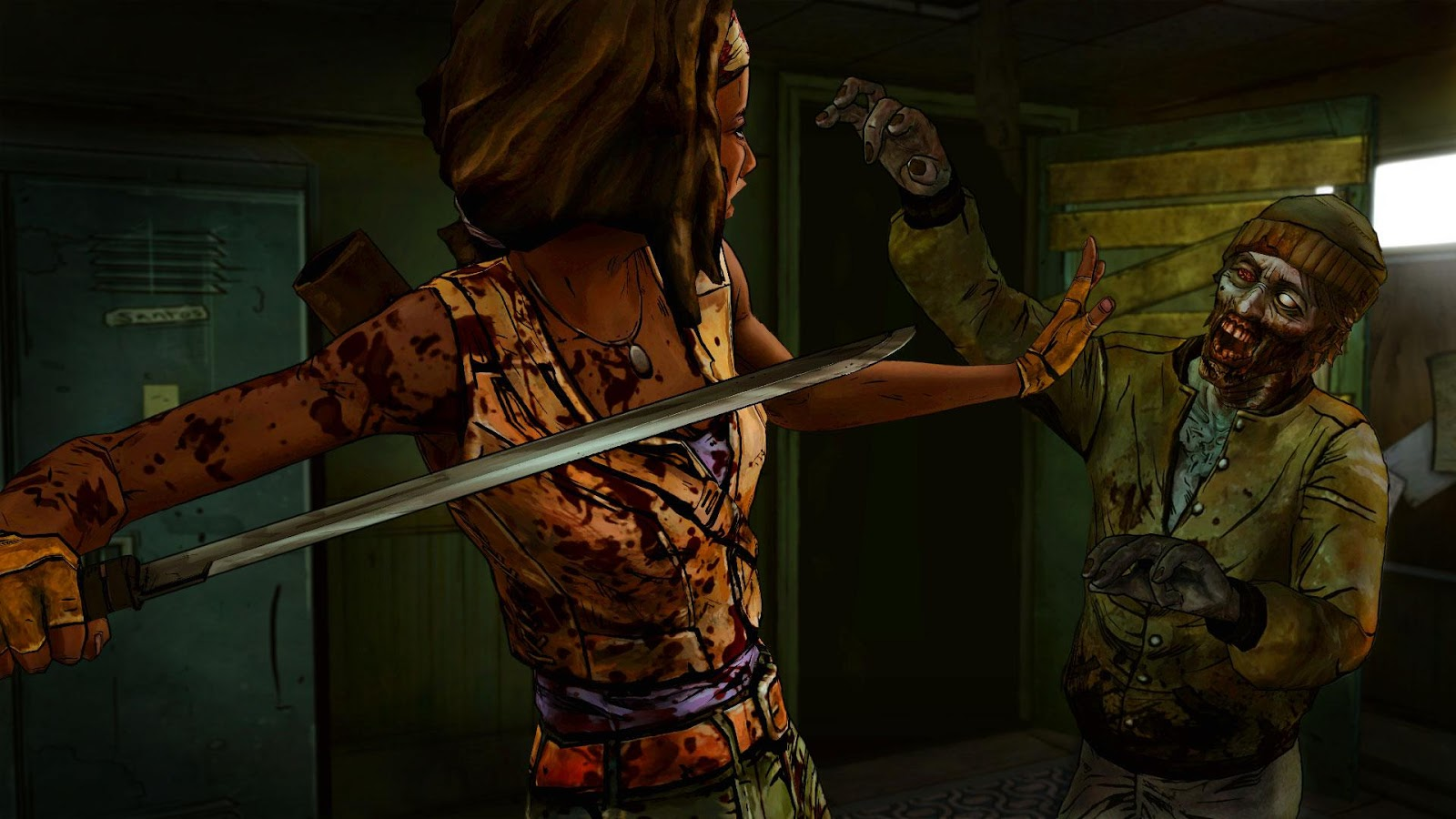 The Walking Dead: Michonne- screenshot