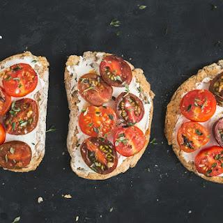 Herbed Ricotta & Tomato Toast Recipe