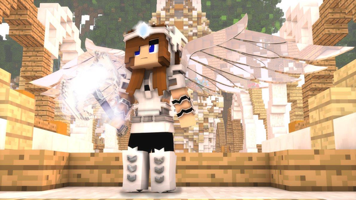 Angel Skins For Minecraft PE APK Download Free Art Design - Skins para minecraft pe apk