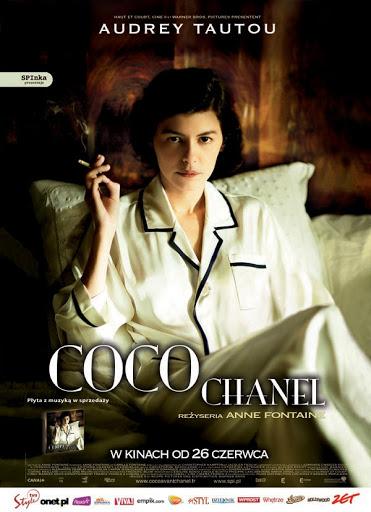 Polski plakat filmu 'Coco Chanel'