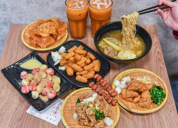壹柒炸:台中西屯區美食-營業到凌晨的內用鹹酥雞店,炸物選擇豐富還有冷氣可以吹!