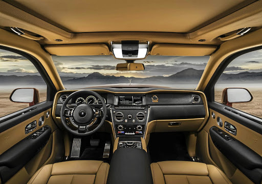 The interior is typically top drawer craftsmanship together with plenty of tech and personalisatio