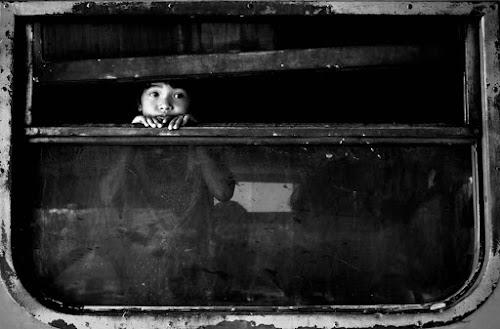 behind the window by Harri Pratama - Babies & Children Child Portraits