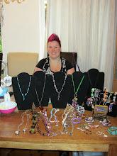 Photo: Astrid Bruin met haar sieraden