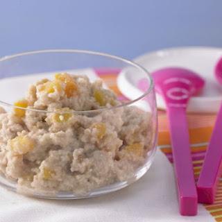 Wheat Porridge with Apricots.