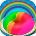 Salon DIY Maker Donut arc icon