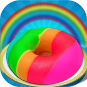 DIY Rainbow Donut Maker Salon