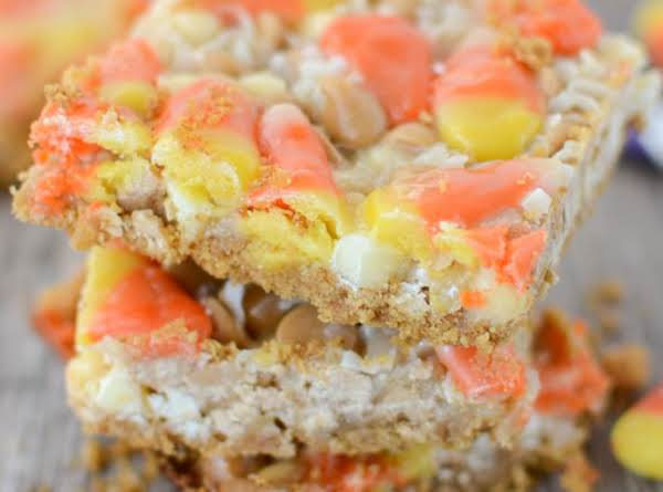 Candy Corn Magic Bars Recipe