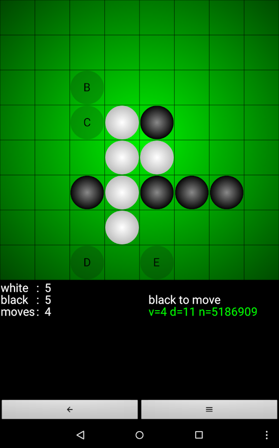 Reversi for Android- screenshot