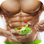 Bodybuilding Diet Workout Plan Icon