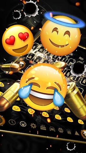 Skull Gun Keyboard 10001003 screenshots 3