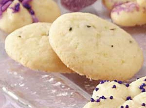Lavender Cookies With Rose Water Icing Recipe