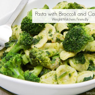 Pasta with Broccoli & Capers