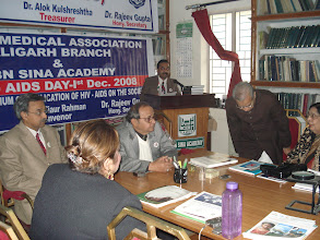 Photo: Dr. Rajeev Varshney addressing