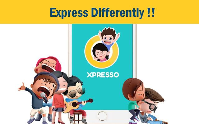 XPRESSO - My animated 3D avatar anime gif sticker- screenshot