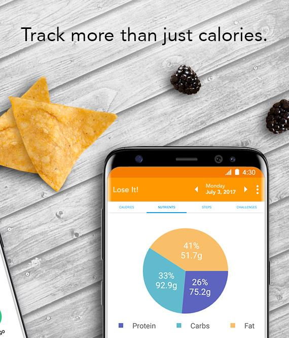Lose It! - Calorie Counter – Capture d'écran