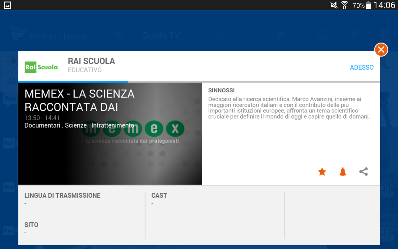Guida TV gratuita su HOTBIRD- screenshot