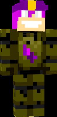 Purple Guy in Springtrap