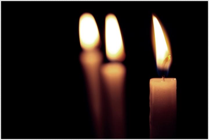 Le tre candele della vita... di DEX82