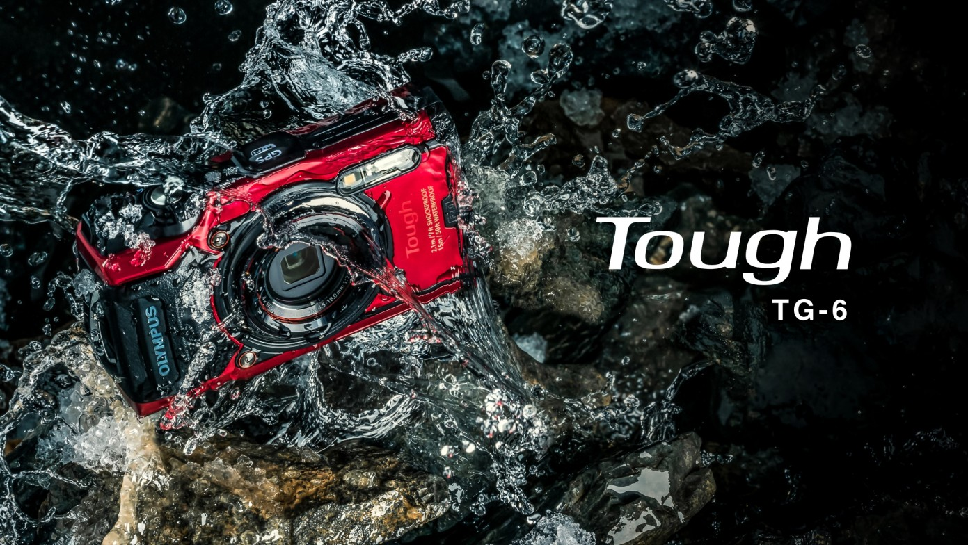 Olympus Tough TG-6 - waterproof - camera For Photography