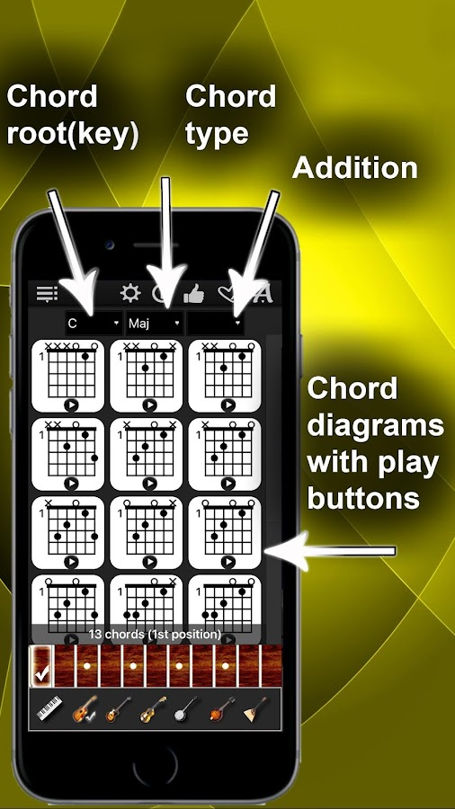 Chords Compass- screenshot