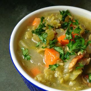 Crock Pot Split Pea and Bacon Soup Recipe