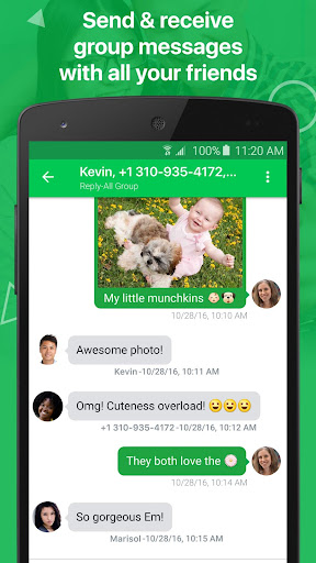 textPlus: Free Text & Calls 7.6.8 Screenshots 8