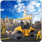 Road Construction: Build City in Heavy Parking 3d Icon