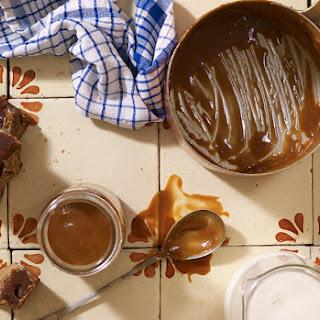 Homemade Cajeta or Dulce de Leche.