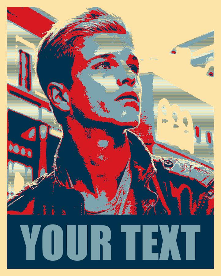president poster maker