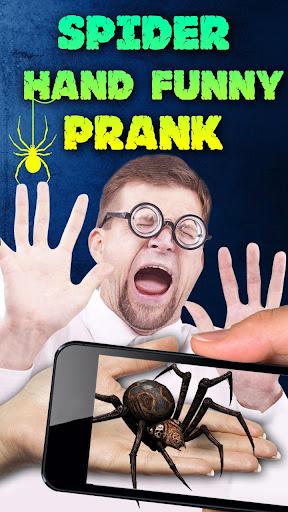 Spider Hand Funny Prank  screenshots 4