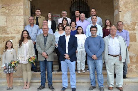 Juan Salvador Pérez assumeix la presidència de la Junta Local Fallera de Dénia